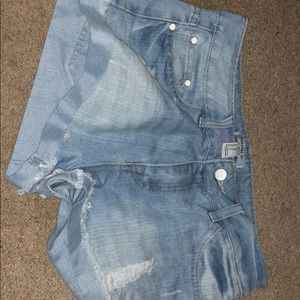 Size 28 Forever 21 Jean shorts